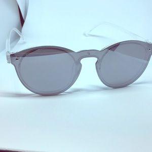 fc2d93badc8 Robin Ruth Accessories - Robin Ruth  Omare  Silver Sunglasses